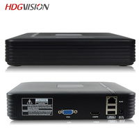 HDGVISION 4CH CCTV DVR Mini DVR 5IN1 For CCTV Kit VGA HDMI Security System Mini NVR