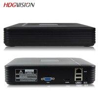 HDGVISION 4CH CCTV DVR Mini DVR 5IN1 For CCTV Kit VGA HDMI Security System Mini NVR