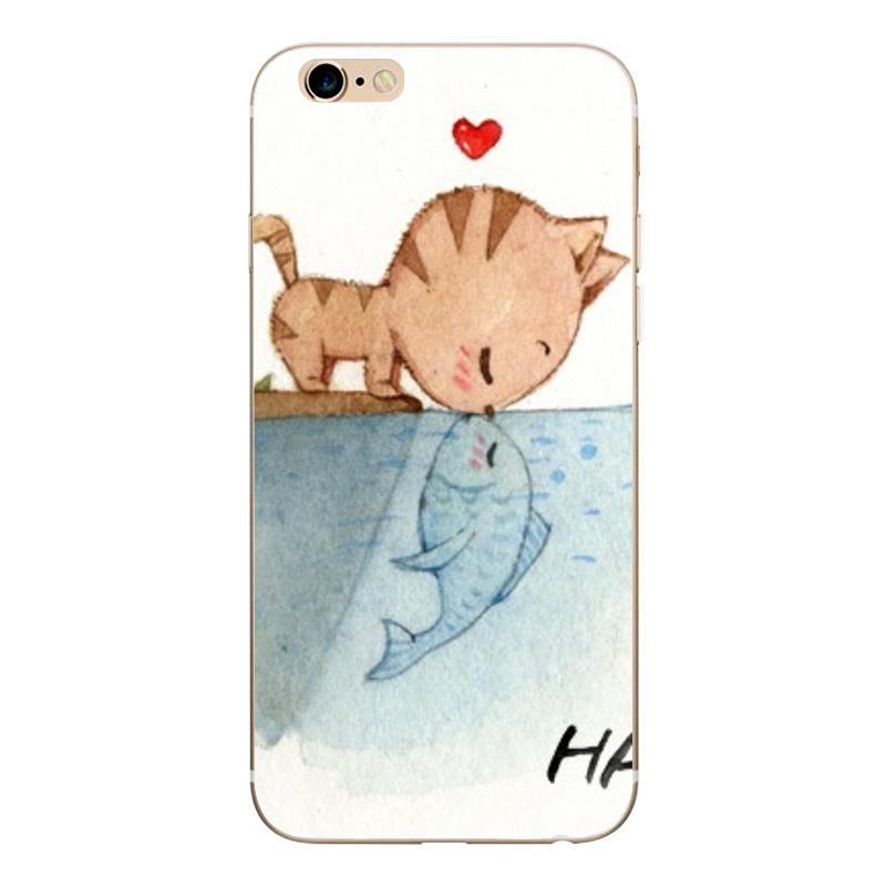 Soft TPU Silicone Case For iPhone 7 6 6s 6 7Plus Funda Coque Cases (2)