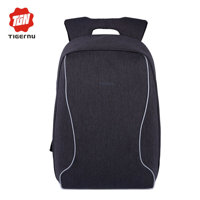 Prix pour 2017 anti vol conception 14 pouce ordinateur portable sac à dos hommes femmes ordinateur portable sac d'ordinateur portable sac tigernu étanche nylon