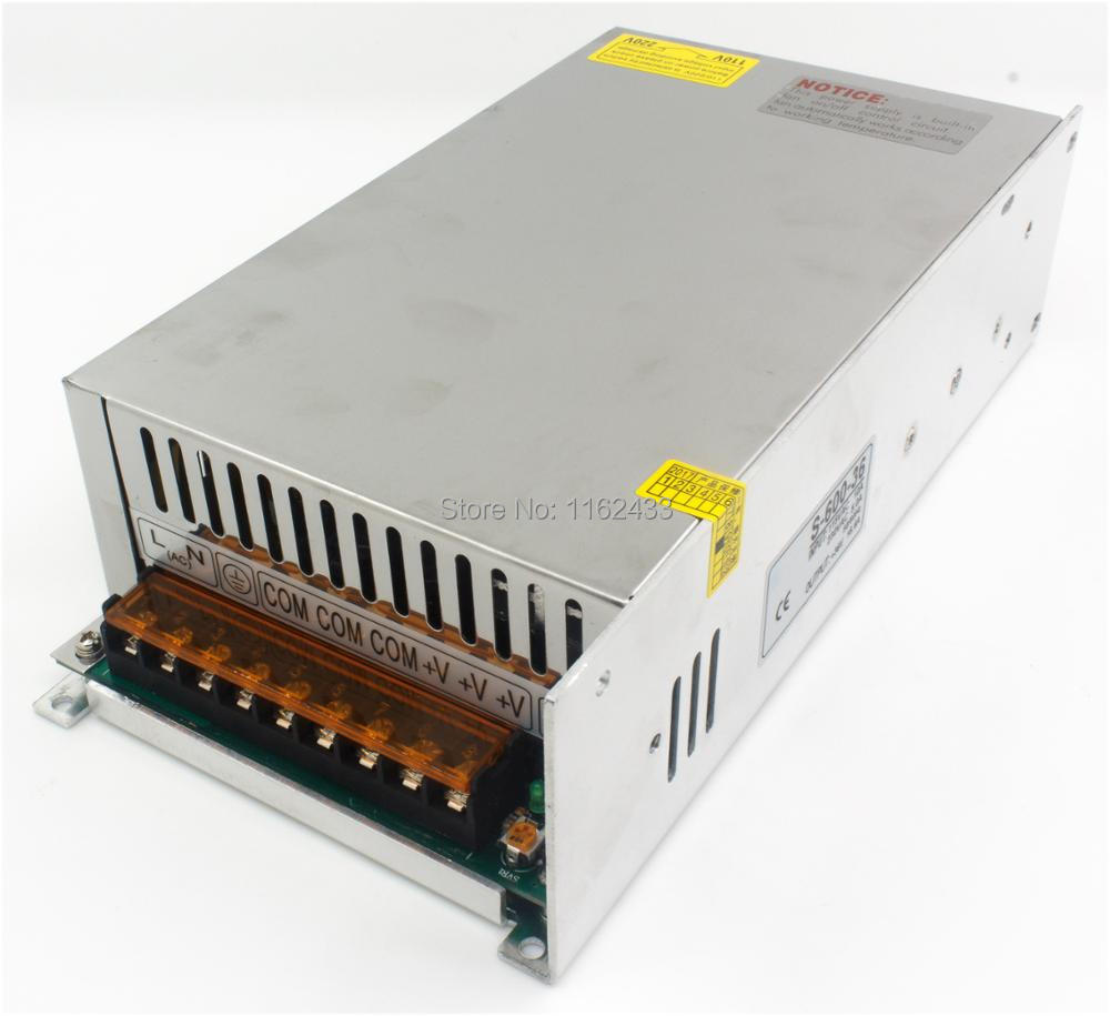S-600-36 600W 36VDC 16.6A single group switching power supply AC 110V / 220V to DC 36VS-600-36 600W 36VDC 16.6A single group switching power supply AC 110V / 220V to DC 36V