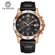 Top Brand Luxury Fashion Chronograph Sports Men Watches Army Military Male Clock Business Leather Wrist Watch Relogio Masculino