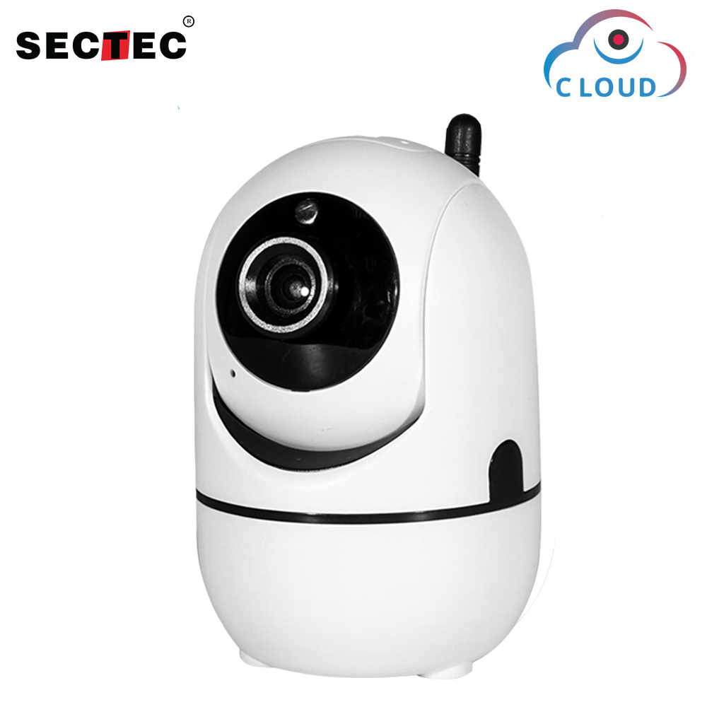 SECTEC 720P Cloud Wireless IP Camera Intelligent analysis Body Motion Tracking Smart Home Security Surveillance System wifi cam system security through log analysis