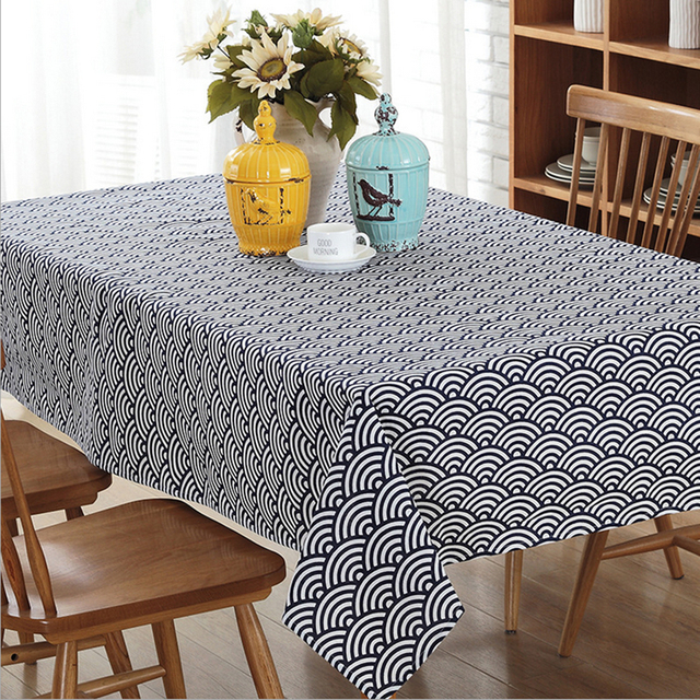 The New Xiangyun Tablecloth High   Quality Polyester   Cotton Printing  Tablecloth Home Textiles Products