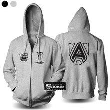 Schwedisch Allianz team DOTA 2 Allianz männer Hoodies männer Sweatshirts herbst casual mann hoody jacke männer mantel