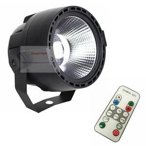 Image 4 - 2020 NEW Arrival Plastic Par Lights 30W RGBW 4IN1 High Brightness COB Par Cans DMX 8 Channel Good For DJ Disco Mini Concert