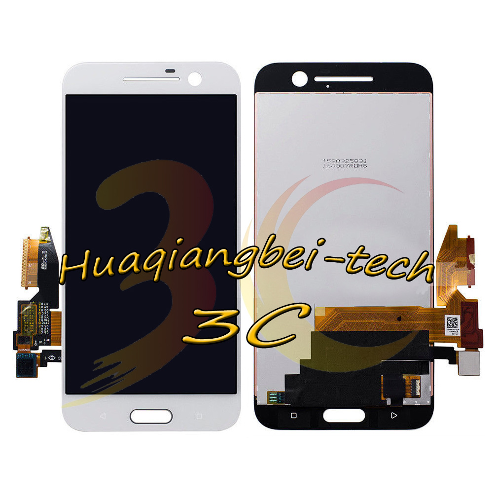 Image 3 - 5.2'' New For HTC 10 One M10 M10H Full LCD DIsplay + Touch Screen Digitizer Assembly Black / White 100% Tested + Tracking-in Mobile Phone LCD Screens from Cellphones & Telecommunications