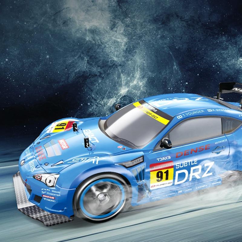 RC Voiture 1:10 Haute Vitesse voiture de course Pour Nissan GTR Championnat 2.4G 4WD Radio Control Sport Drift Racing jouet électronique