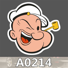 A0214 Spoof Anime Punk Cool Sticker for Car Laptop Luggage Fridge Skateboard Graffiti Notebook Scrapbook Scooter Stickers Toy