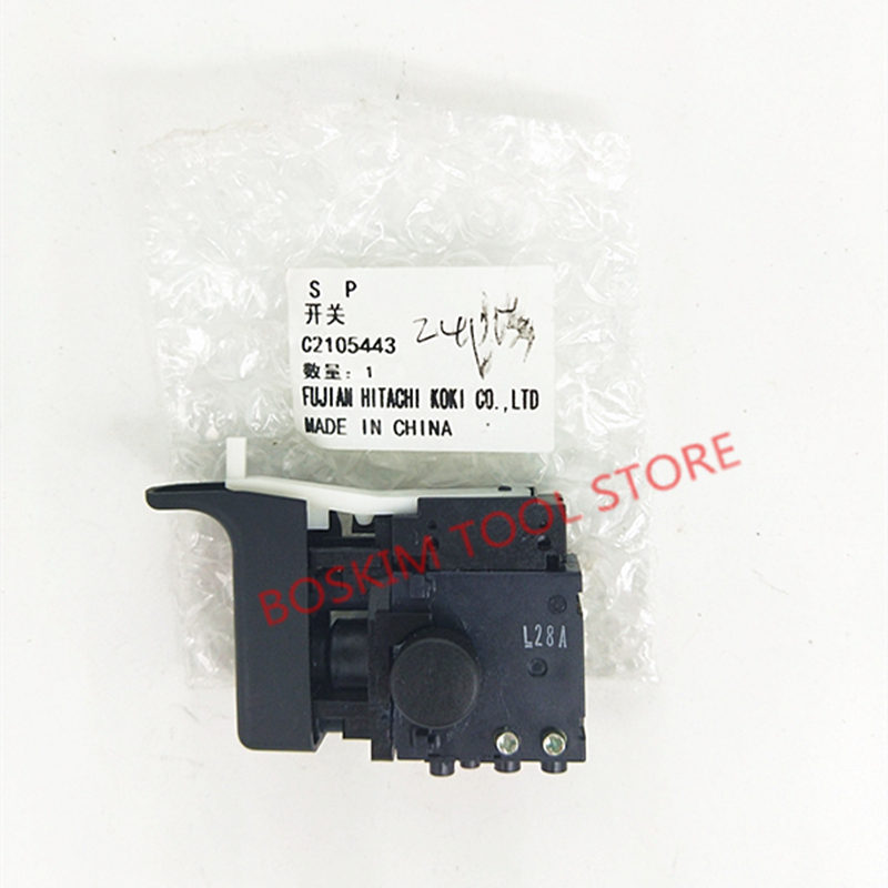 SWITCH for Hitachi 335796 DH24PD3 DH24PC3 DH24PB3 DH22PH DH22PG Rotary HammerSWITCH for Hitachi 335796 DH24PD3 DH24PC3 DH24PB3 DH22PH DH22PG Rotary Hammer