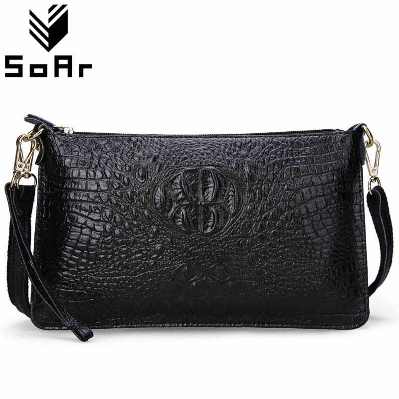 a7a5185072b Detail Feedback Questions about Women Bag Genuine Leather Crocodile ...