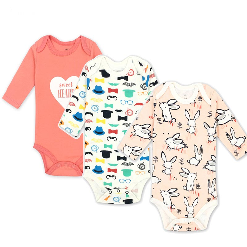 1 Year Birthday Baby Boy girl rompers Clothes O-neck Body Menina Animals Vestido Infantil Newborn Boys Long Sleeve baby suits mother nest 3sets lot wholesale autumn toddle girl long sleeve baby clothing one piece boys baby pajamas infant clothes rompers