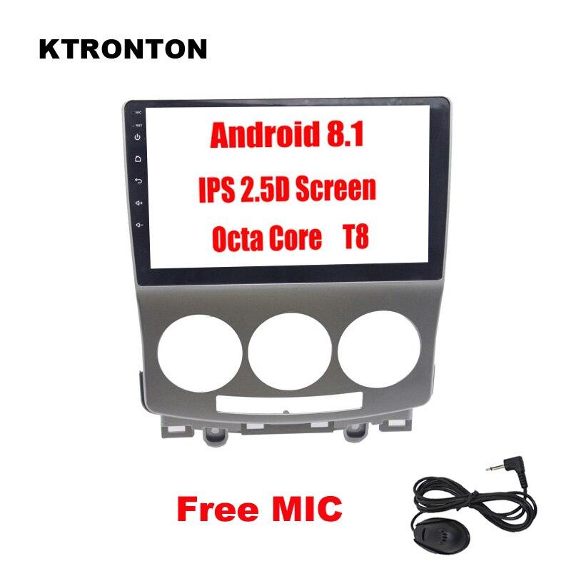 2.5D IPS 8 Octa core Android 8,1 автомобильный dvd плеер для Mazda 5 2005 2010 с ГЛОНАСС gps радио Bluetooth Зеркало Ссылка Wi Fi карта 4G