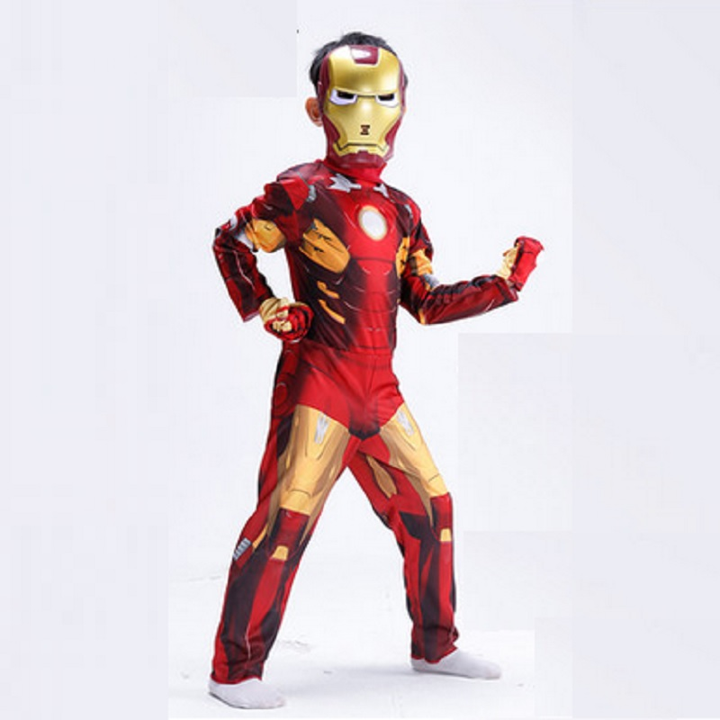 animal iron man costume kids halloween costumes children christmas for boys carnival costume for a boy mask helmet cosplay child