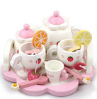 New wooden toy Baby toy Strawberry wooden Tea toys Simulation toy baby gift