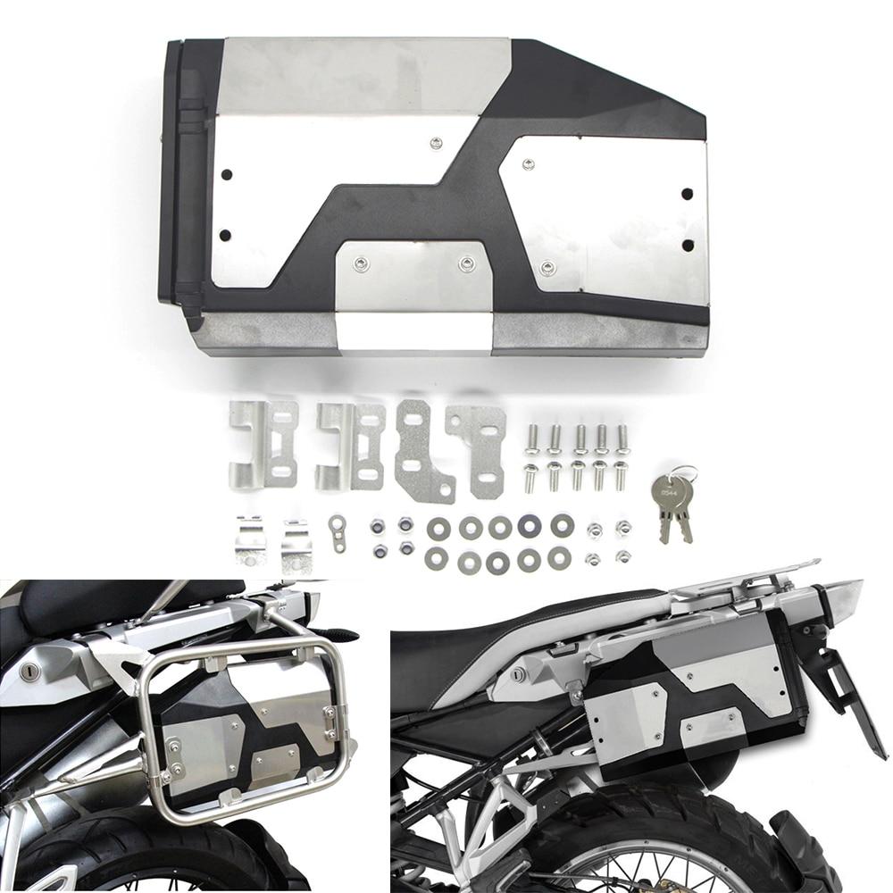 Tout nouveau pour BMW R1250GS/ADV R 1200 GS LC 2004-2019 boîte à outils en aluminium décorative boîte à outils 4.2 litres boîte à outils support latéral gauche