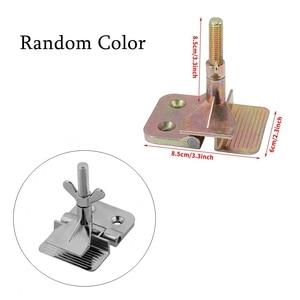 Image 4 - 4 шт. набор трафаретной печати 43/120T алюминиевая рама из шелкографической сетки + зажим для петель + Эмульсия Совок + скребок набор деталей для инструментов