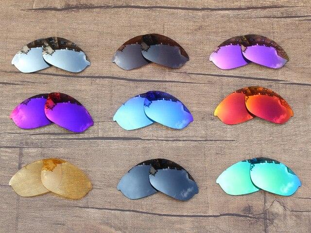 PapaViva POLARIZADA Lentes de Reposição para óculos de Sol Metade Jaqueta  100% UVA   Uvb 6249d5dbf6