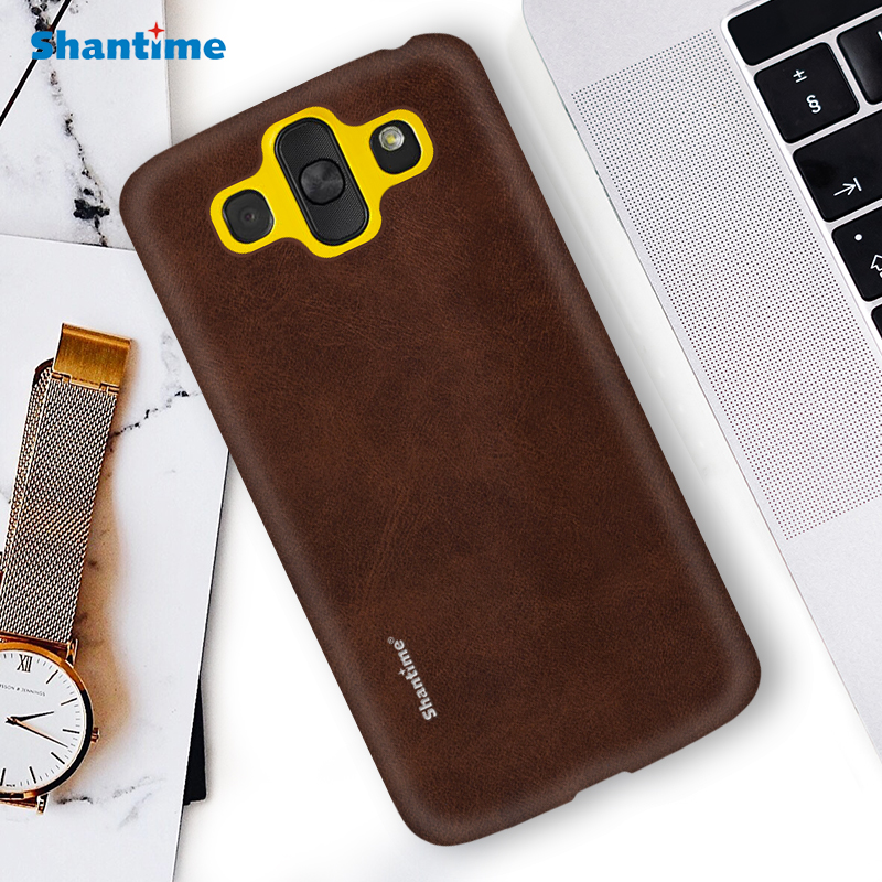 Hot Sell Case Luxury Vintage PU Leather Case For LG AKA Phone Case For LG AKA Business Style Cover image