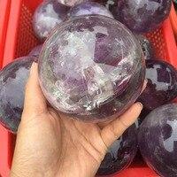 100% natural Madagascar Natural amethyst quartz Crystal polished Sphere Ball Healing crystal gemstone home decoration