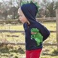 2016 novas roupas de inverno para crianças crianças longo-lojas de fábrica camisola de mangas compridas desenhos animados camisola com capuz menino