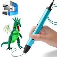 3d Printing Magical pen Toy 3D Drawing Pen With total 3M Filaments For Children Printing Drawing kids pens Jouet Gift