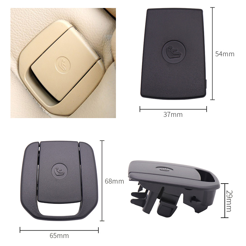Isofix Cover Black Rear Centre 9162816 BMW F10 Saloon 5 series