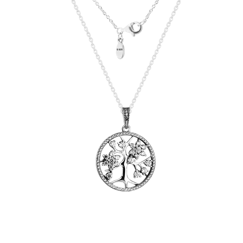 Family Tree Pendant and Necklaces 925 Sterling Silver Jewelry Free ShippingFamily Tree Pendant and Necklaces 925 Sterling Silver Jewelry Free Shipping