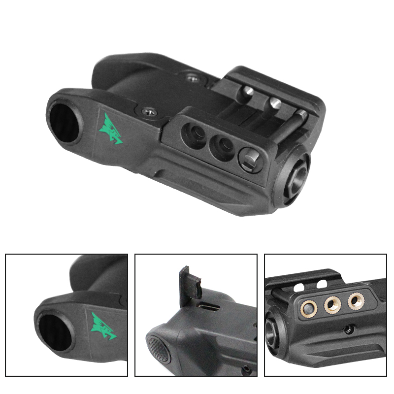 Laserspeed Smart Sensor Control Pistol Laser Sight LS-L9-GT Military Police Tactical Green Glock Laser-3