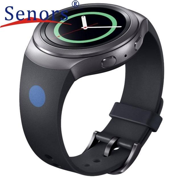 Luxury Silicone Watch Band Strap For Samsung Galaxy Gear S2 SM-R720 new design 2017 spring hot sale Dec15 send in 2 days