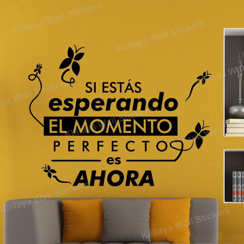 Nuestra Casa Spanish Vinyl Decal Wall Sticker Words Letters Decor