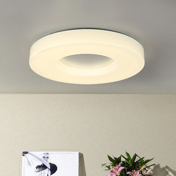 Nordic Minimalism Round PMMA Led Ceiling Lights Metal Bedroom Led Ceiling Lamp Living Room Led Ceiling Light Fixtures