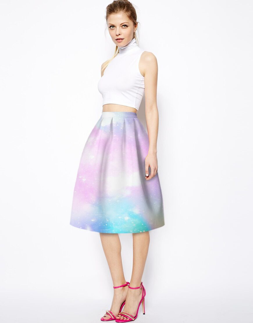 Pink Midi Skirts Promotion-Shop for Promotional Pink Midi Skirts ...