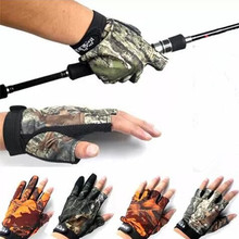 5 Colors Men/Women Sport Fishing Gloves Outdoor Sport New 2016 Ice Protection Glove Free Shipping