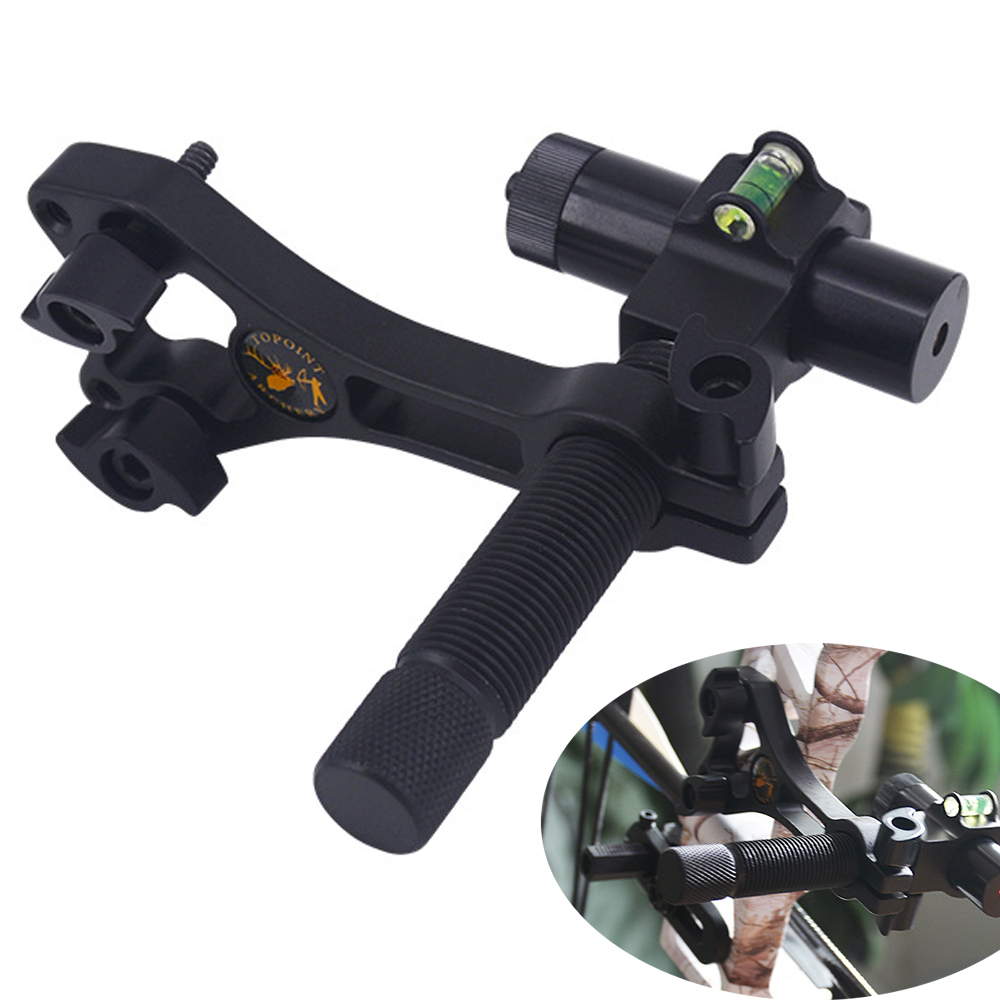 Specialized laser aiming tool Compound Bow Laser Sight Aluminum Archery Center Laser Aligner with 360 Degree