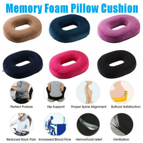 2019 New Orthopedic Pillow Butt Seat Cushion For Office Chair And Car Tailbone Pain Relief