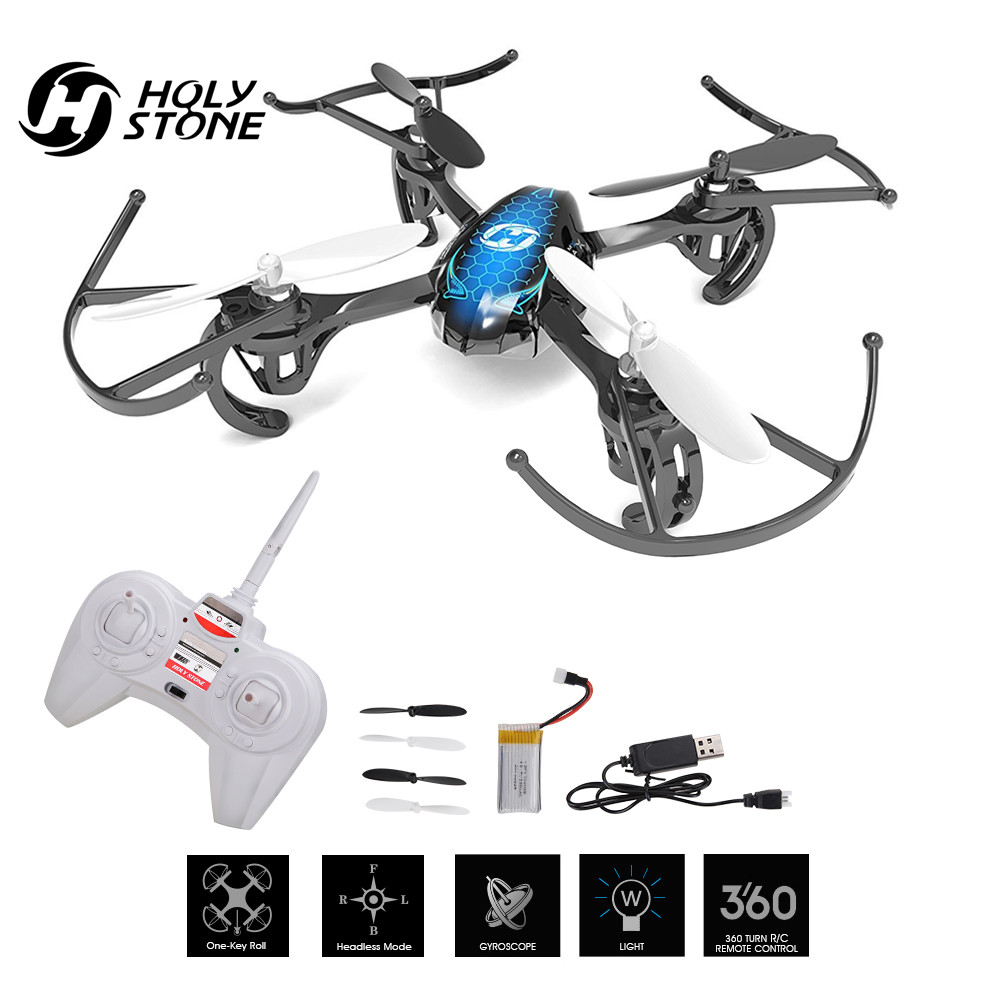 Holy Stone HS170 Drone Predator Mini RC Quadcopter 2.4Ghz 6-Axis Gyro 4 Channel One Key Return Headless Toy RC Airplane Beginner syma x12 2 4ghz 4 channel 6 axis gyro mini r c quadcopter aircraft toy green page 9
