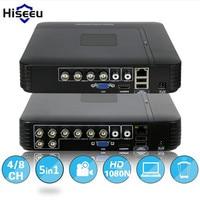 Hiseeu 1080N Mini DVR 5IN1 For 1080P IP Camera VGA HDMI Security System Mini NVR For