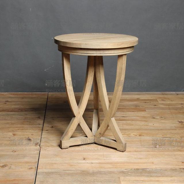 Online Shop Vintage French American country Elm solid wood oak ash