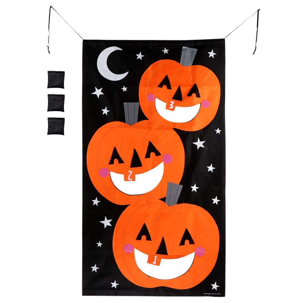 Outstanding Us 10 69 30 Off Ourwarm Halloween Party Hanging Pumpkin Bean Bag Toss Game Gift For Kids Black And Orange Bean Bags For Throwing In Party Diy Onthecornerstone Fun Painted Chair Ideas Images Onthecornerstoneorg