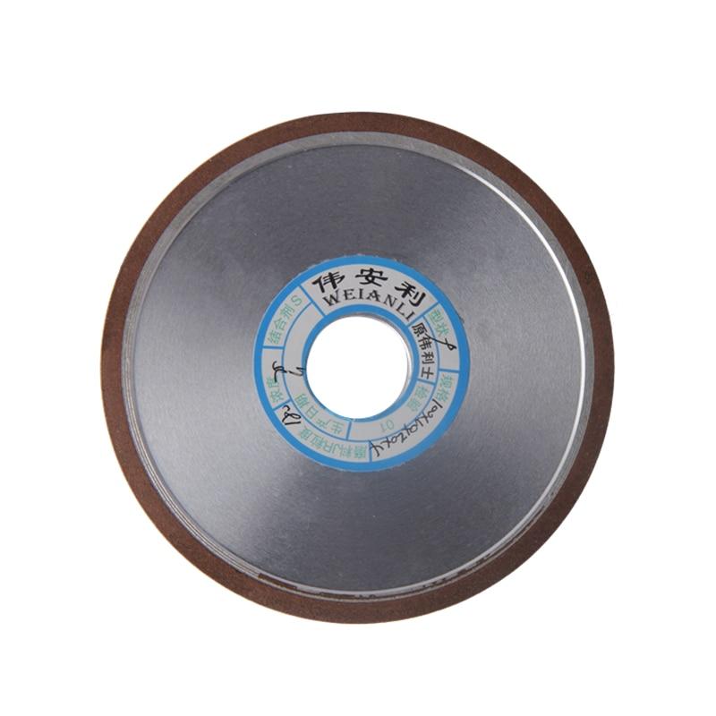 100mm Diamond Grinding Wheel 150/180/240/320 Grain Flat Disc Mill Cutting Abrasive Tools
