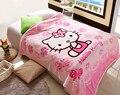 70*100 cm Coral Fleece anime tela Manta de Cama mantas cobertor Toalla de Baño de Felpa Aire Acondicionado Del Sueño de la Cubierta ropa de cama