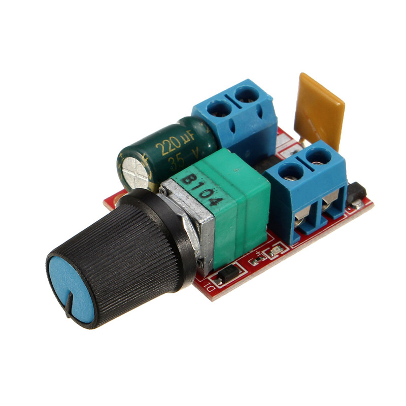 Best price dc 3v 35v motor pwm speed controller 90w speed for Lm317 motor speed control