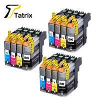 12PK pour Brother LC123 cartouche d'encre Compatible pour MFC-J4510DW MFC-J4610DW imprimante cartouche d'encre LC 123 MFC-J4410DW J4710DW