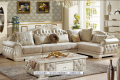 U-BEST European style sofa New classic leather sofa/ the living room corner combined  French fabric sofa