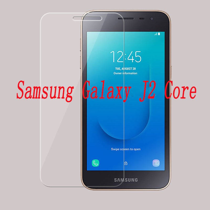 5D Tempered Glass For Samsung Galaxy J2 Core J260 Full