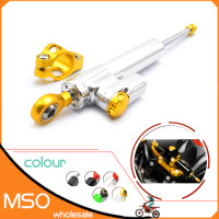 Motorcycle CNC Damper Steering Stabilizer Damper Linear Reversed Safety Control for Honda X ADV 750 Hornet 600 CBR 600 F