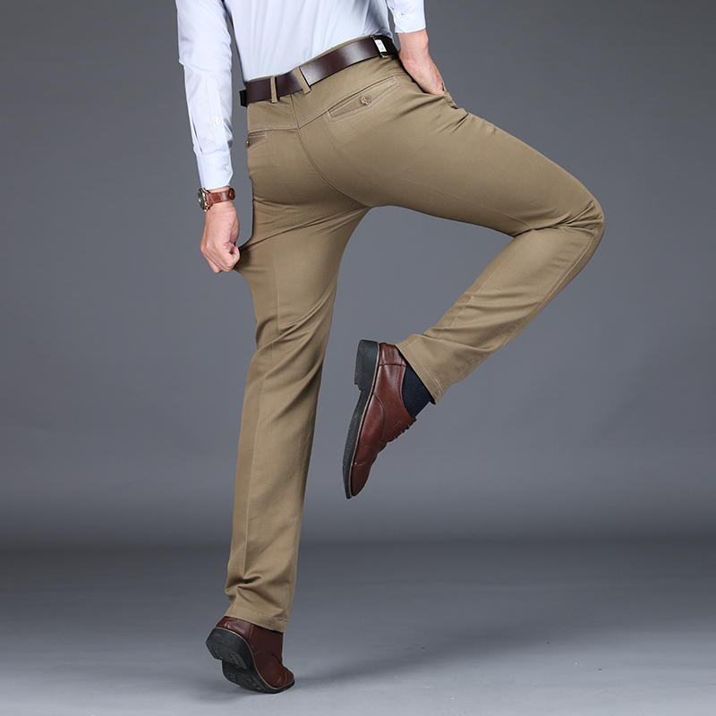 Image 2 - VOMINT 2020 Mens Suit pants Fashion Stretch Slim Straight Men 