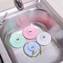 Rubber Circle Silicone Plug for Shower Bathtub Plug Bathroom Kitchen Sink Strainer Basin Stopper Water Stopper Drain