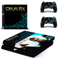 Decal Skin of DEUS EX MANKIND DIVIDED PS4 Colorskin For Sony Playstation 4 PS4 Console protection film and 2Pcs Controller Skins